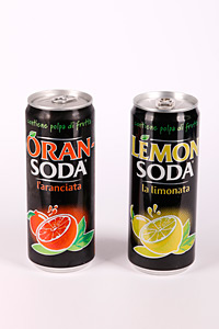 Oran-Soda, Lemon-Soda